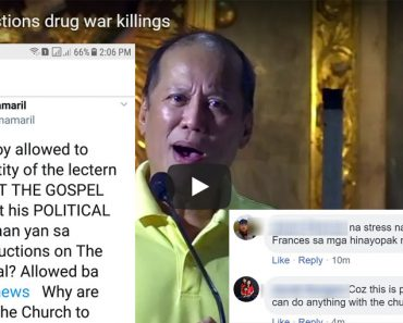 Pnoy and CBCP gets flak