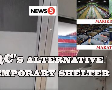 Quezon Citys alternative temporary shelter