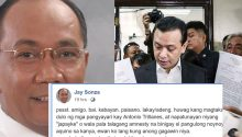 Jay Sonza on Trillanes