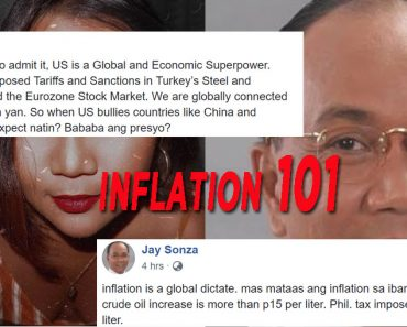 Jay Sonza on inflation