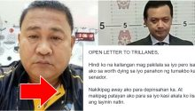 Open letter to Senator Antonio Trillanes IV