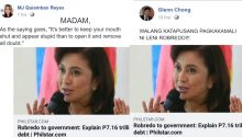 Leni Robredo on P7trillion debt